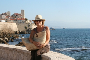Patricia Sands, Antibes, France