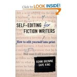 Self-Editing for fiction writers, by Renni Browne and Dave King
