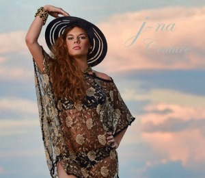 J-na Haute Couture, beach cover up